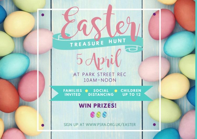Easter Treasure Hunt on the Rec