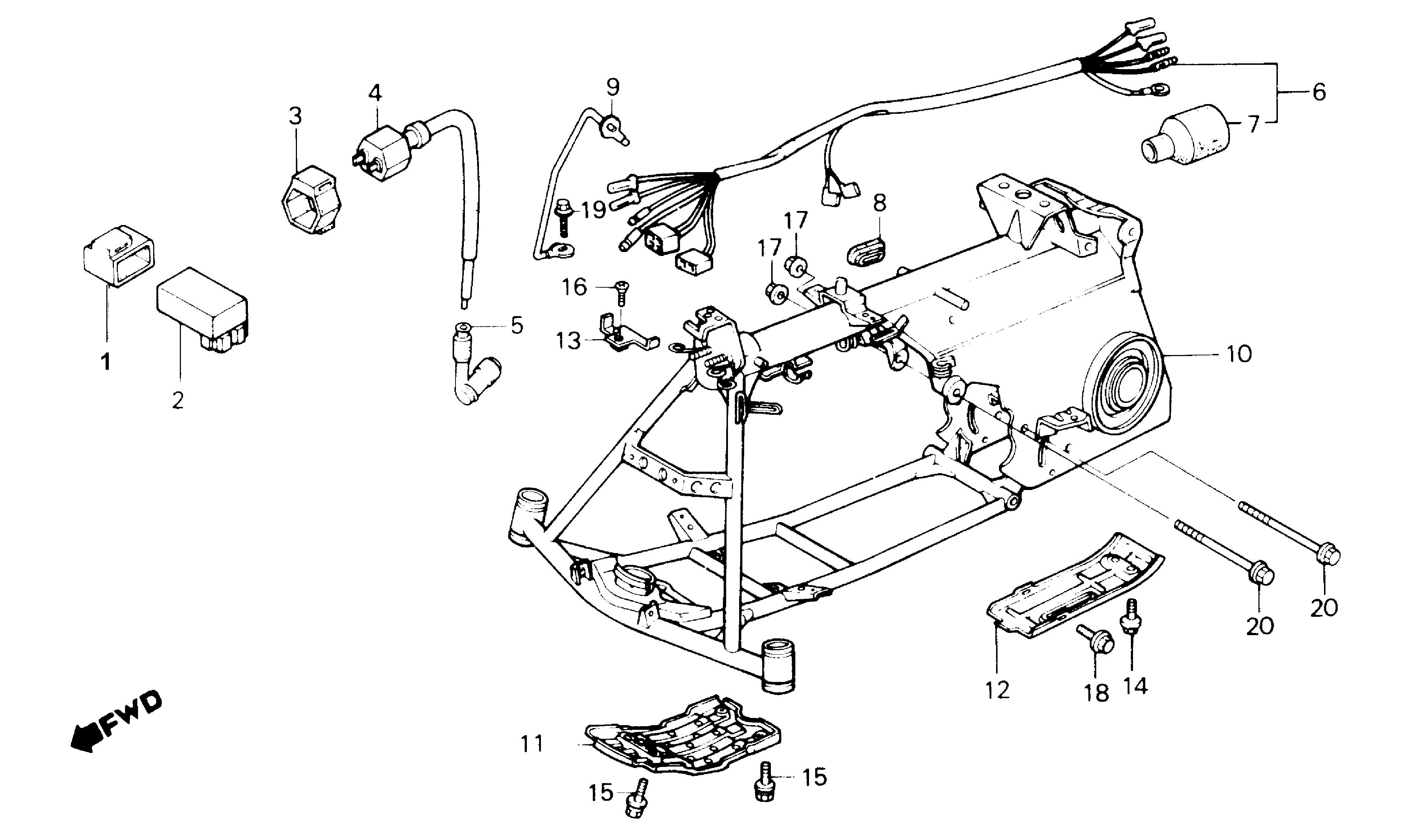 [DIAGRAM] Honda Nq50 Wiring Diagram FULL Version HD