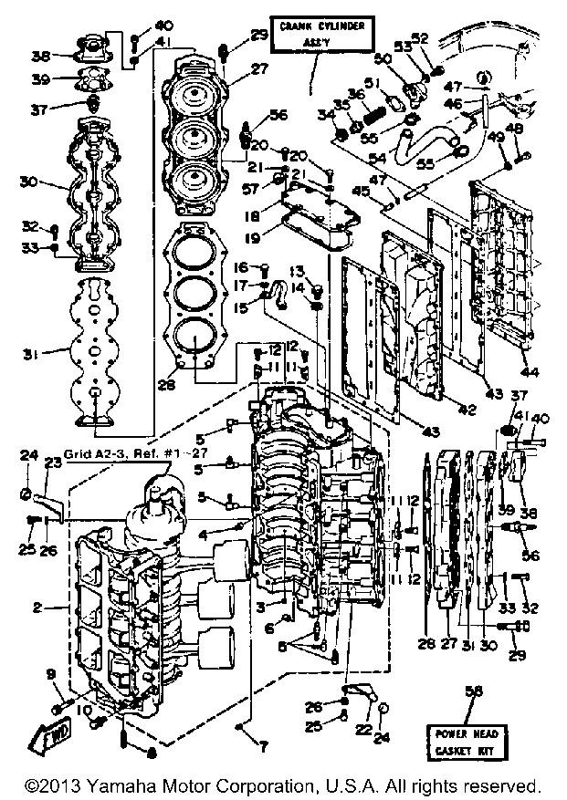 Yamaha OEM Part 6G5-41113-00-9M