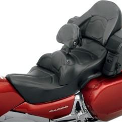 Road Sofa Seat Goldwing Make A Bed Cover Saddlemen Honda Gold Wing Gl1800 W Backrest Ebay Details About
