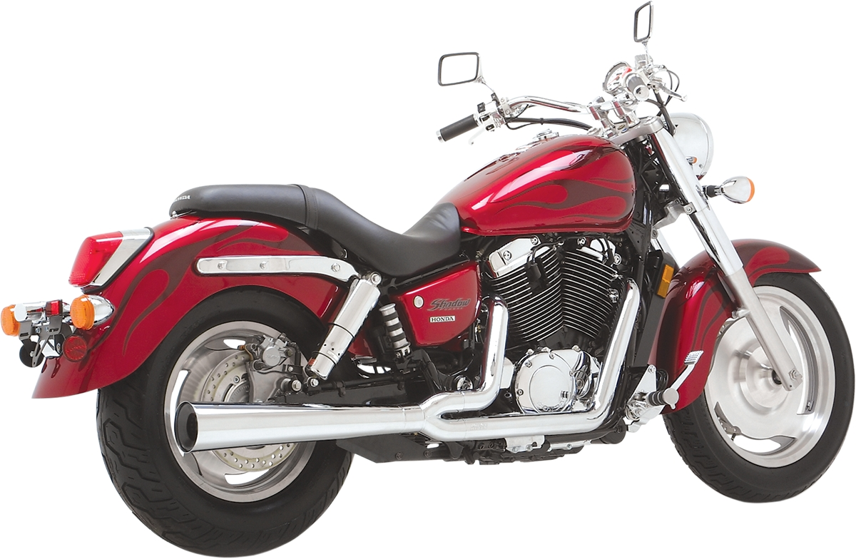 hight resolution of details about new vance hines 25401 2 1 pro pipe hs exhaust system 00 07 honda sabre 1100