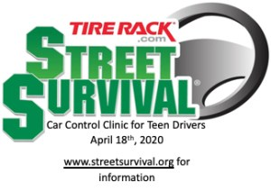 Tirerack.com Street Survival Car Control Clinic for Teen Drivers