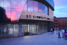 Photo of Kawneer glazing systems to feature on world's first Passivhaus leisure centre