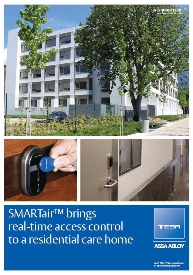 Smartair™ Brings Realtime Access Control To A Residential