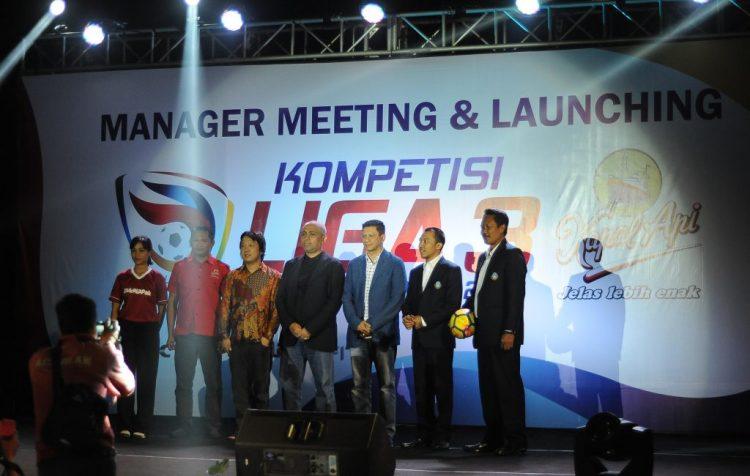Kick Off Liga 3 Kapal Api 2018 Mulai 1 April