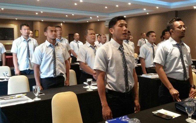 Kursus pelatih C AFC yang digelar PSSI Jatim. (jawapos)