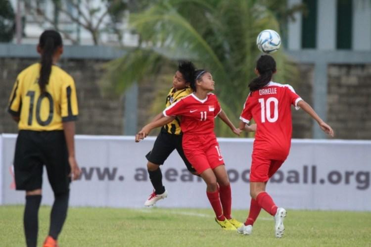 Partai perdana Turnamen AFF U-16 Girls Championship