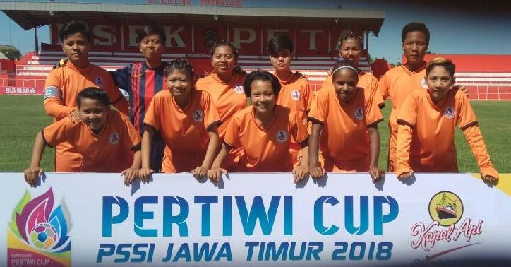 Tampil Trengginas, Putri Kediri Bantai Evolution FC Gresik