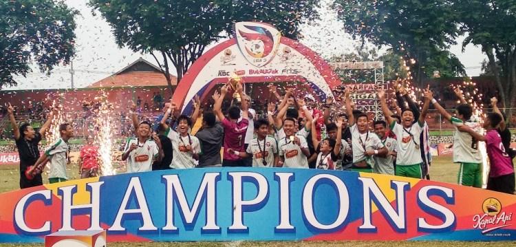 Kandaskan Persekabpas, Persiga Juara Liga 3 PSSI Jatim 2018