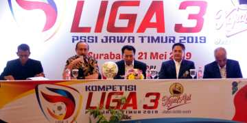 Manager Meeting Liga 3 Jatim, Selasa 21 Mei 2019 di Hotel Novotel, Surabaya