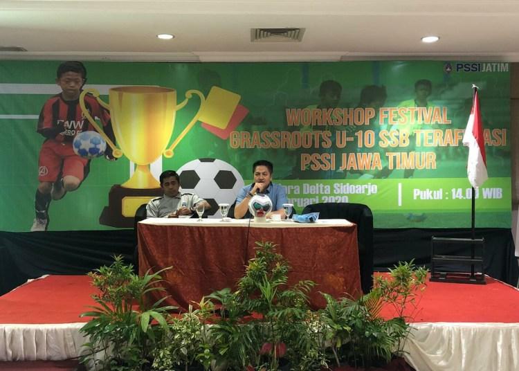Pungkasi Program Kerja, Gelar Festival Grassroots U-10