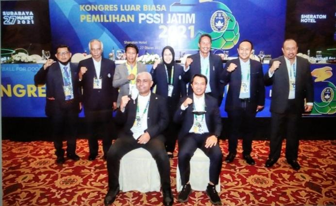 Inilah Skuad PSSI Jatim Periode 2021-2025