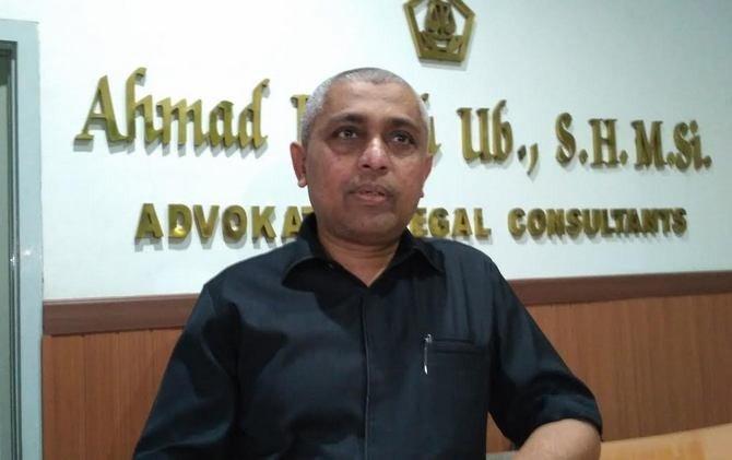 Ketua Umum PSSI Jatim, Ahmad Riyadh UB SH, MSi