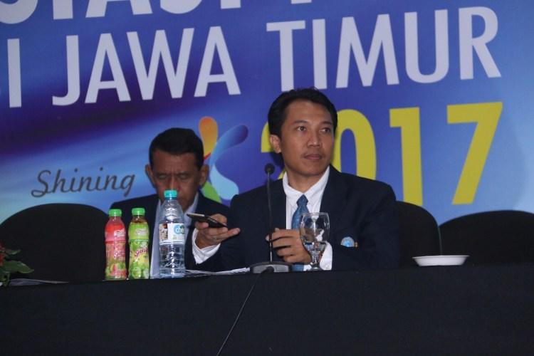 Sekretaris Umum Asprov PSSI Jatim Amir Burhannudin SH.