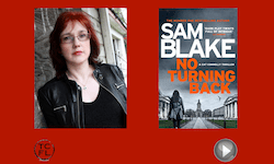 Sam Blake, author of No Turning Back