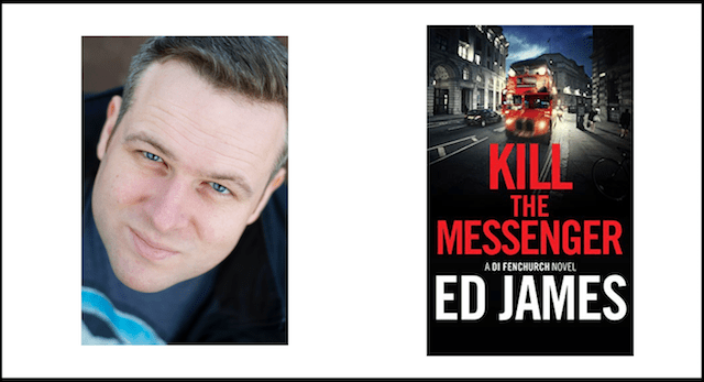Ed James author of Kill The Messenger