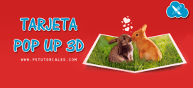 Tarjeta Pop Up 3D con Photoshop