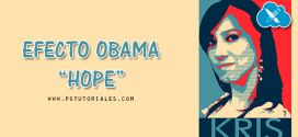 "Efecto Obama ""Hope"" con Photoshop"