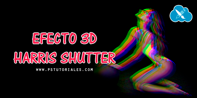 Efecto 3D Harris Shutter con Photoshop
