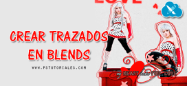 Crear trazados en blends con Photoshop