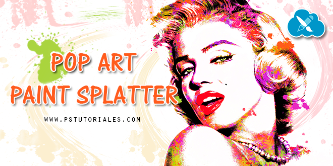 Pop Art Salpicado Photoshop Tutorial