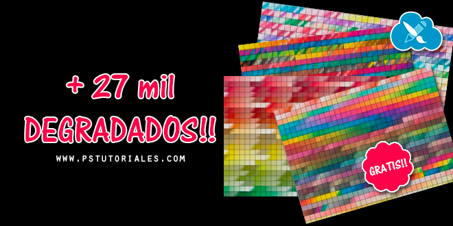 27 mil  degradados para Photoshop