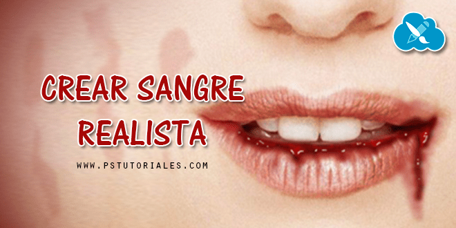 Crear sangre realista Photoshop Tutorial
