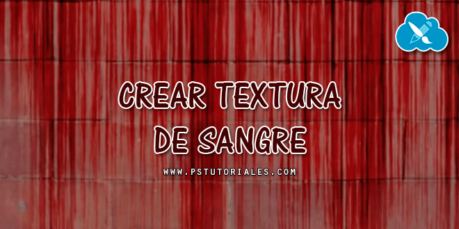 Textura de sangre Photoshop Tutorial