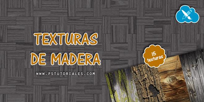 15 texturas de madera