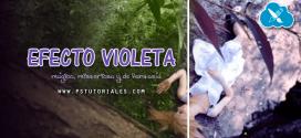 Efecto Violeta Photoshop Tutorial