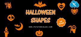 64 formas personalizadas de Halloween
