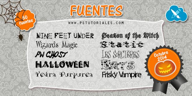 Fuentes Octubre 2014 (Halloween)