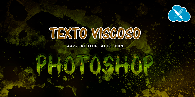 Texto Viscoso con Photoshop