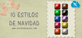 10 estilos de colores navideños