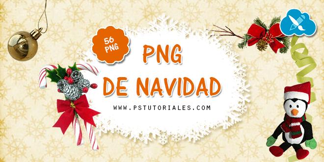 56 PNGs variados de Navidad