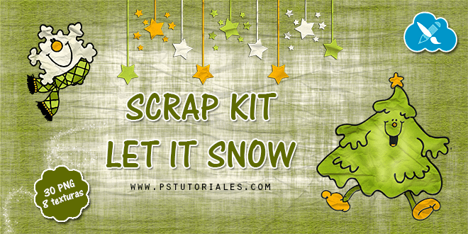 Scrap Kit Let it Snow