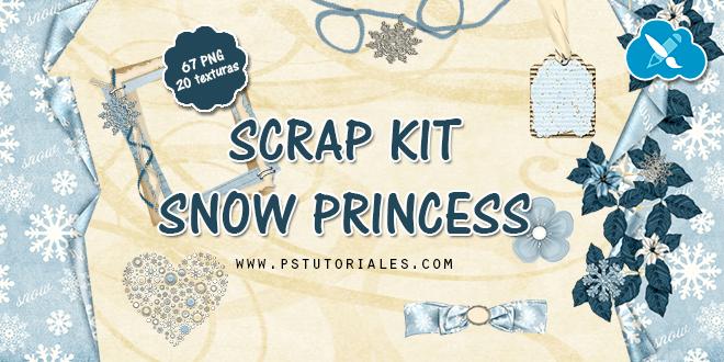 Scrap Kit Navidad – Snow Princess