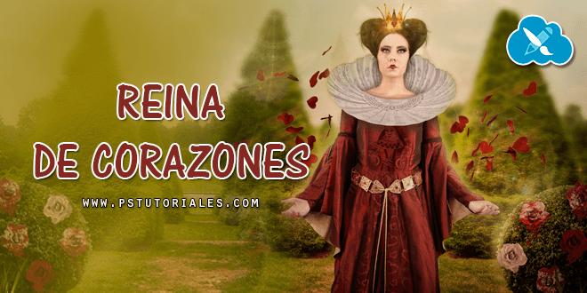 Reina de Corazones Photoshop Manipulation