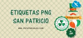 15 etiquetas de San Patricio