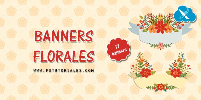 17 banners de flores