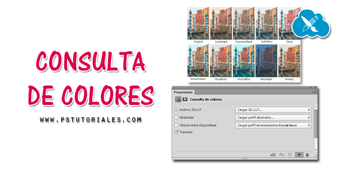 Consulta de colores en Photoshop