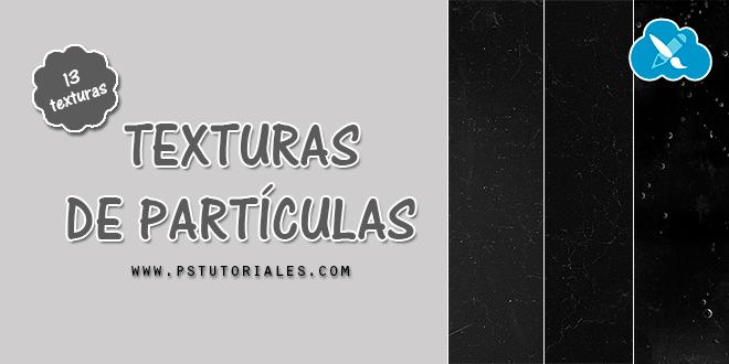 13 texturas de partículas