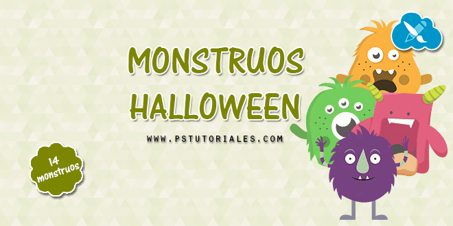 14 monstruos de Halloween