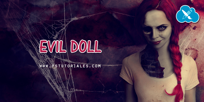 Evil Doll Photoshop Manipulation