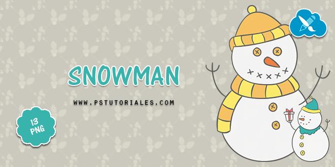 13 PNG muñeco de nieve