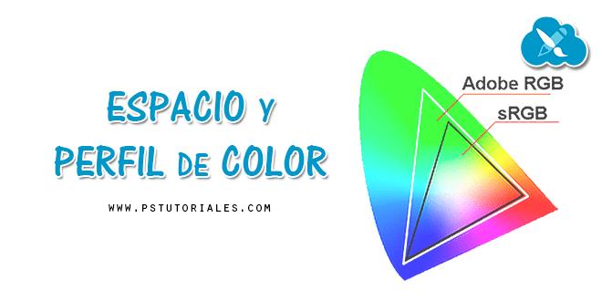Espacio y perfil de color en Photoshop