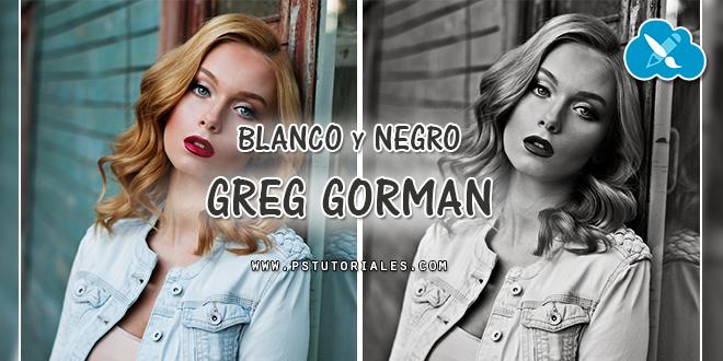 Blanco y negro Greg Gorman con Photoshop