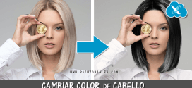Cambiar color del cabello con Photoshop de rubio a moreno