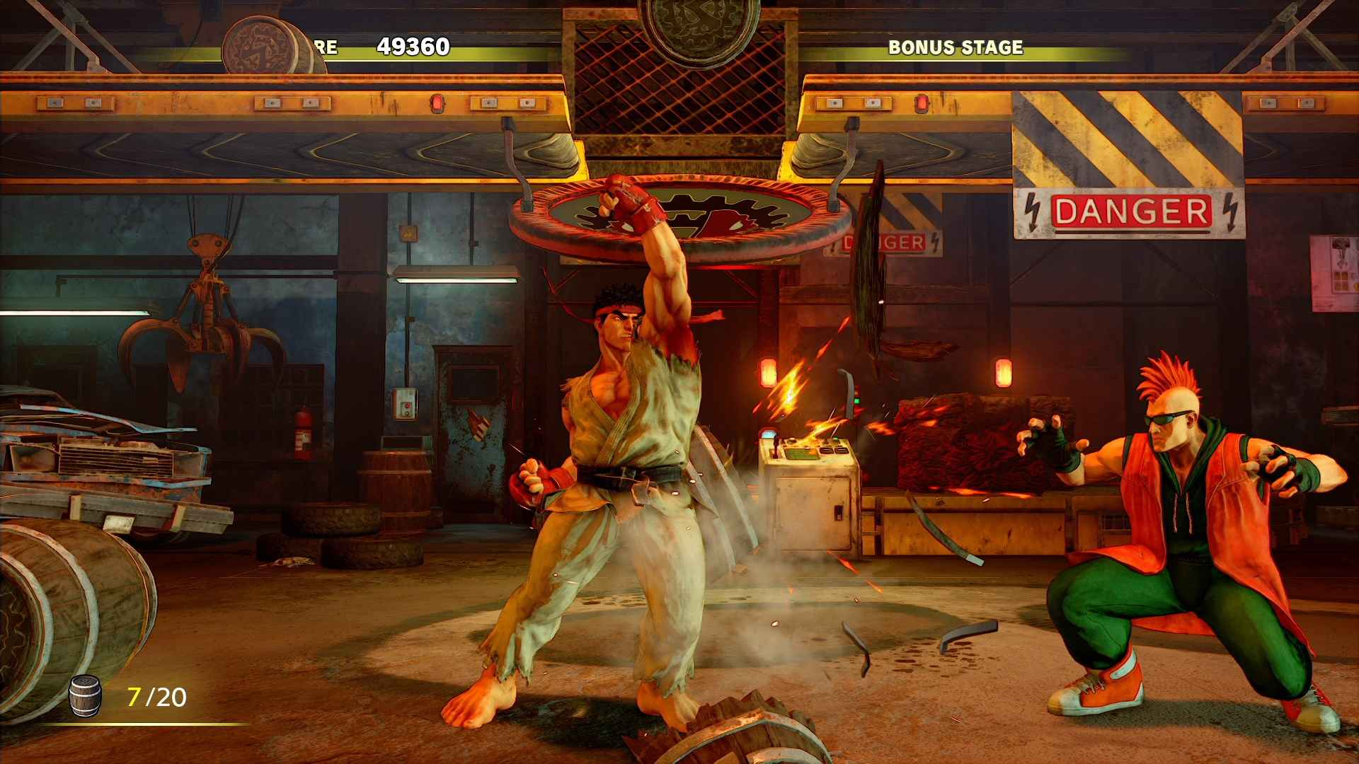 Street Fighter V Arcade Edition Update Is 21gb; Servers
