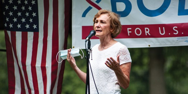 Senate candidate Barbara Bollier hosts 'Chat in the Park'